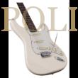 Soundsation ROCKER-100S Vintage White elektromos gitár