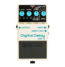 Boss DD-3 digital delay effekt pedál