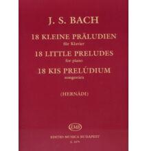 J.S.Bach : 18 kis prelúdium ( Régi kiadás)