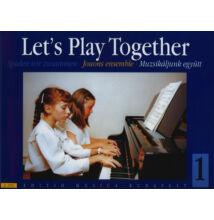 Muzsikáljunk együtt négykezes zongoradarabok