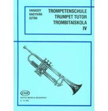 Varasdy-Nagyiván-Sztán : Trombitaiskola IV. ( Régi kiadás)