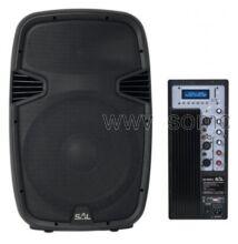 Sal PAX40PRO/A aktív MP3 lejátszóval, 400W