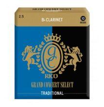 RICO Grand Concert Select B klarinét nád