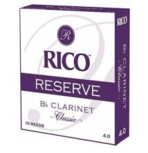 RICO Reserve Classic b klarinét nád