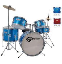Soundsation JDK516 gyerek dobszerelés metálkék
