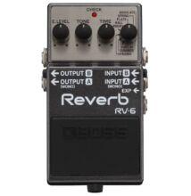 Boss RV-6 Reverb effekt pedál