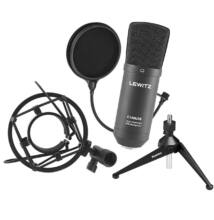 LEWITZ C100USB SET USB kondenzátor mikrofon