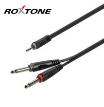 Roxtone RAYC130L6 3,5 Sztereó Jack – 2×6,3 Monó Jack, 6m