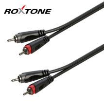 Roxtone RACC130L1 2xRCA – 2xRCA kábel, 1m