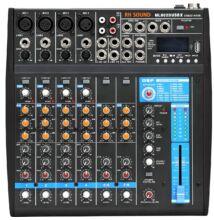 RH Sound ML802 DUSBX analóg keverő