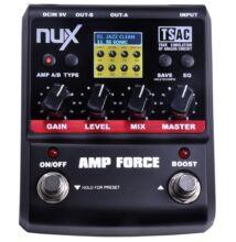 NUX Amp Force effektpedál