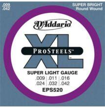 D'Addario EPS-520 elektromos gitárhúr