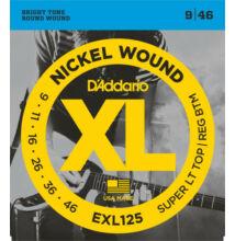 D'Addario EXL-125 elektromos gitárhúr