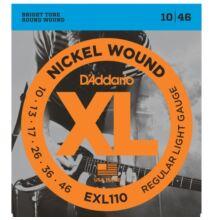 D'Addario EXL-110 elektromos gitárhúr