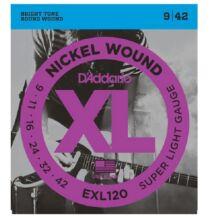 D'Addario EXL-120 elektromos gitárhúr
