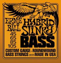 Ernie Ball 2833 Hybrid Slinky basszus húr 045-105