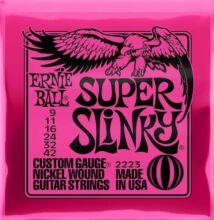 Ernie Ball 2223 Super Slinky 9-42 elektromos gitárhúr