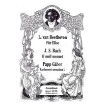 Beethoven: Für Elise,  Bach: H moll menuet