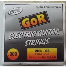 Gor Extra Light elektromos gitárhúr