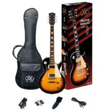 SX-SE3 Kit Vintage Sunburst elektromos gitár szett