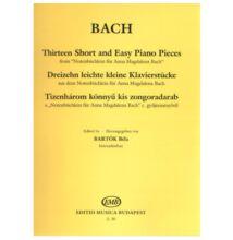 Bach : Tizenhárom könnyű kis zongoradarab