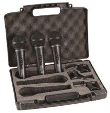 Soundsation® VOCAL 300 PRO 3P CARDIOID DYNAMIC 3PZ SETT