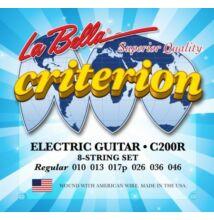 La Bella Criterion C200R elektromos gitárhúr