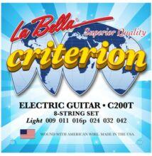 La Bella Criterion C200T elektromos gitárhúr
