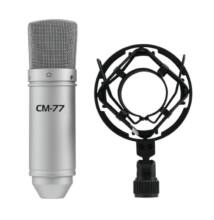 Omnitronic MIC CM-77 Condenser Kondenzátor Mikrofon