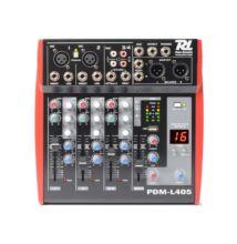 Power Dynamics PDML405  4 cs , MP3 + Effekt zenekari keverő
