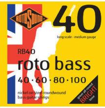 Rotosound RB 40 Roto Bass 040-100 basszusgitár húrkészlet: