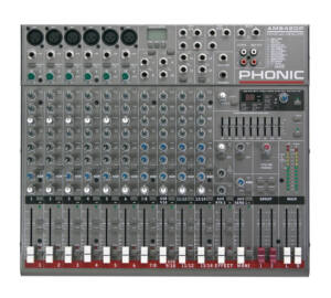 Phonic AM642DP USB keverő