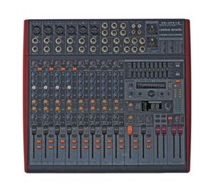 Voice-Kraft UFX12 6 mik.4 monó, 2 mono/sztereó és 2 sztereó csattornás keverőpult