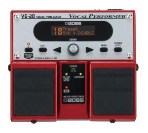 Boss VE-20 Vocal pedál