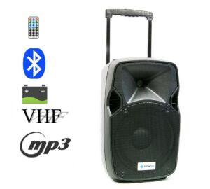 Thunder Audio ACCU10 400W MP3 + Bluetooth + FM akkumulátoros hordozható hangfal