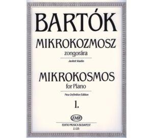 Bartók : Mikrokozmosz zongorára 1