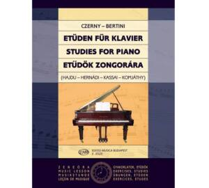 Czerny : Etűdök zongorára