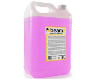 BeamZ HD-75 füstfolyadék magas sűrűség (5 liter) + ILLAT (kókusz, vanília, eper, stb.)