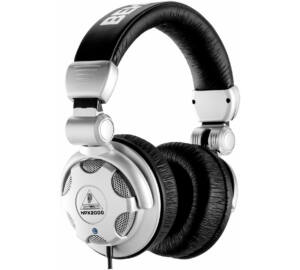 Behringer HPX2000 nagy teljesítményű zárt DJ fejhallgató