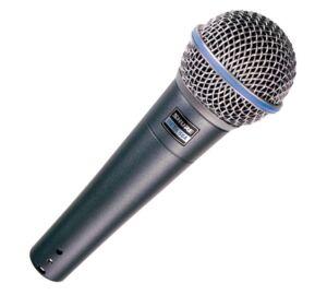 Shure BETA 58A dinamikus mikrofon