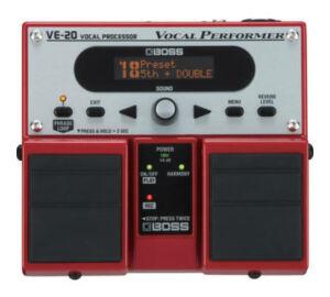 Boss VE-20 vocal processzor