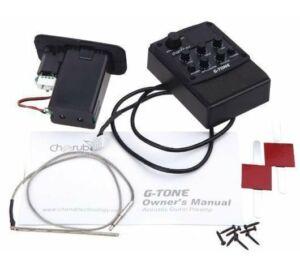 Cherub GT-3 hangszedő: elektronika akusztikus gitárhoz