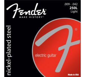 Fender Super 250L Nickel Plated Steel, 009-042 elektromos gitárhúr