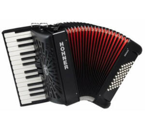 HOHNER Tangóharmonika, Bravo II 48 fekete