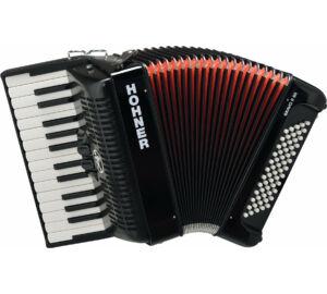 HOHNER Tangóharmonika, Bravo II 60, fekete