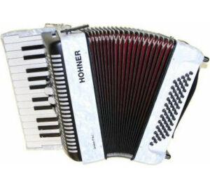 HOHNER Tangóharmonika, Bravo II 60 fehér