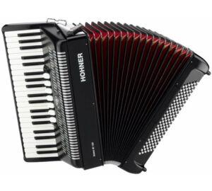 HOHNER Tangóharmonika, Bravo III 120, fekete