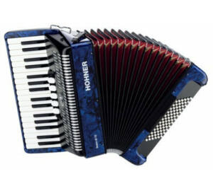 HOHNER Tangóharmonika, Bravo III 72, kék