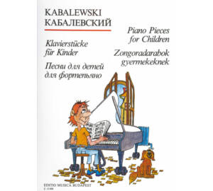 Kabalewski : Zongoradarabok gyerekeknek