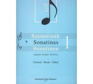 Clementi-Benda-Vanhal Szonatinák